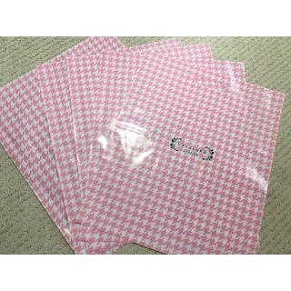 フェイラー(FEILER)のフェイラー ララルカ ショッパー 5枚 FEILER LaraLuka  ピンク(ショップ袋)