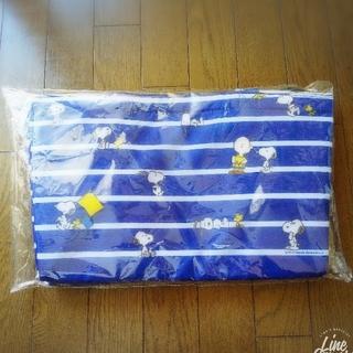 スヌーピー(SNOOPY)のローソン スヌーピー 保冷バッグ  エコバッグ  新品未使用  送料込み(ノベルティグッズ)