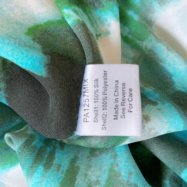 Parker(パーカー)のPARKER パーカー シルク ジオメトリック柄 ワンピース ドレス レディースのワンピース(ひざ丈ワンピース)の商品写真