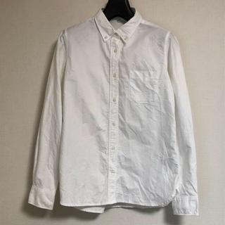 ムジルシリョウヒン(MUJI (無印良品))の無印良品 オーガニックコットン洗いざらしオックスボタンダウンシャツ(シャツ/ブラウス(長袖/七分))