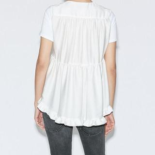 バーニーズニューヨーク(BARNEYS NEW YORK)のyoko chan トップス Tシャツ ヨーコチャン ブラック(Tシャツ(半袖/袖なし))