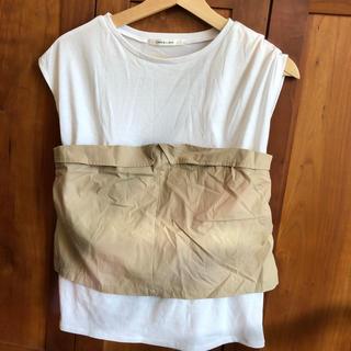 アンレリッシュ(UNRELISH)のノースリーブ Tシャツ(Tシャツ(半袖/袖なし))