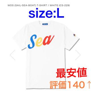 WIND AND SEA TシャツL SAIL-SEA-BOAT  CS-229(Tシャツ/カットソー(半袖/袖なし))