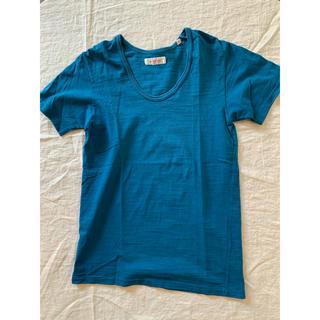 ハリウッドランチマーケット(HOLLYWOOD RANCH MARKET)のハリウッドランチマーケット☆Tシャツ(used)サイズ0(Tシャツ(半袖/袖なし))