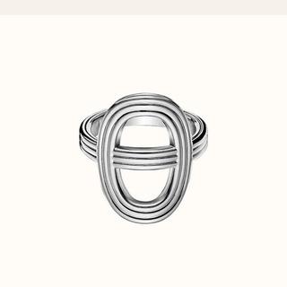 エルメス(Hermes)のHERMES リング シェーヌダンクル 24 大人気 12号(リング(指輪))