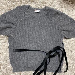 レッドヴァレンティノ(RED VALENTINO)のREDVALENTINO半袖ニット(Tシャツ(半袖/袖なし))