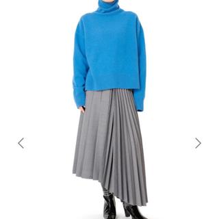 ルシェルブルー(LE CIEL BLEU)のルシェルブルー アシンメトリックプリーツスカート(ロングスカート)