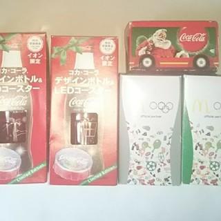 コカコーラ(コカ・コーラ)のコカ・コーラ グラス LEDコースター(ノベルティグッズ)