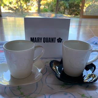 マリークワント(MARY QUANT)の♯マリークヮント  マグ&プレートセット(食器)
