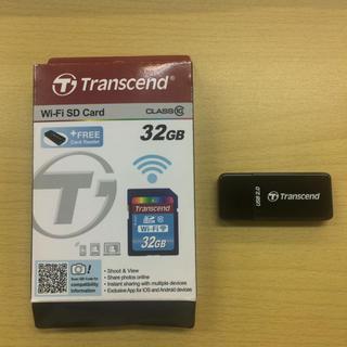 トランセンド(Transcend)のTRANSCEND トランセンド カードリーダー(PC周辺機器)