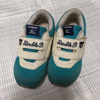DOUBLE.B - ミキハウスダブルB中古靴18.5cmミズノコラボ