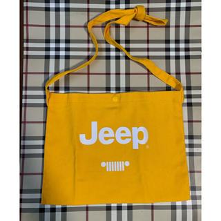 ジープ(Jeep)のジープ サコッシュ イエロー(ショルダーバッグ)