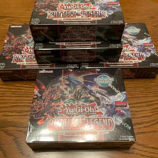 コナミ(KONAMI)の北米版 未開封5ボックス バトルオブレジェンド アルマゲドン(カード)