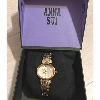 アナスイ(ANNA SUI)のANNA SUI ゴールドの時計(腕時計)