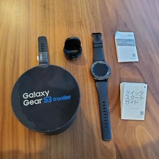 ギャラクシー(Galaxy)のgalaxy Gear S3 frontier (腕時計(デジタル))