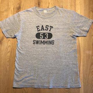 ウエアハウス(WAREHOUSE)のウエアハウス カレッジロゴ Tシャツ(Tシャツ/カットソー(半袖/袖なし))