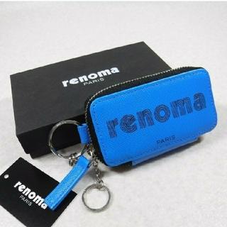 レノマ(RENOMA)のレノマ 箱付新品★定価8250円スマートキー対応 キーリング付 山羊革キーケース(キーケース)