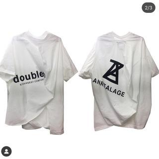 アンリアレイジ(ANREALAGE)のdoublet×ANREALAGE コラボt(Tシャツ/カットソー(半袖/袖なし))