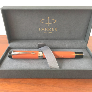 パーカー(Parker)の限定値下げ★パーカー万年筆★デュオフォールド センテニアル ビッグレッド18K(その他)