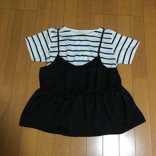 レピピアルマリオ(repipi armario)のTシャツ ビスチェ 2枚セット repipi armario(Tシャツ(半袖/袖なし))