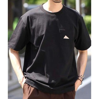 ケルティ(KELTY)のKELTY ポケットTシャツ M(Tシャツ/カットソー(半袖/袖なし))
