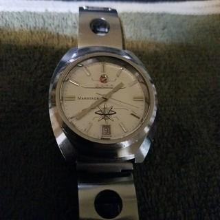 ラドー(RADO)のジャンク RADO ラドーマーストロン 電磁テンプ式 カットガラス(腕時計(アナログ))