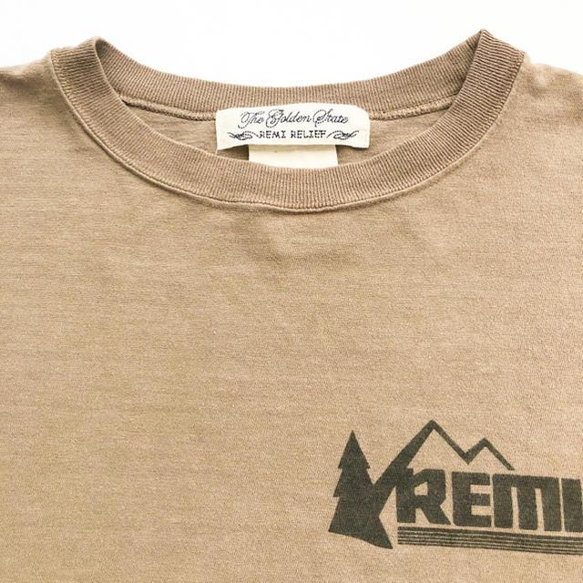 L'Appartement DEUXIEME CLASSE(アパルトモンドゥーズィエムクラス)のREMI RELIEF レミレリーフ Print L/S Tee   レディースのトップス(Tシャツ(長袖/七分))の商品写真