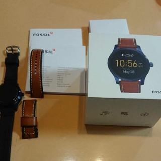 フォッシル(FOSSIL)のりっくん様専用  FOSSIL Q Marshal スマートウォッチ(腕時計(デジタル))