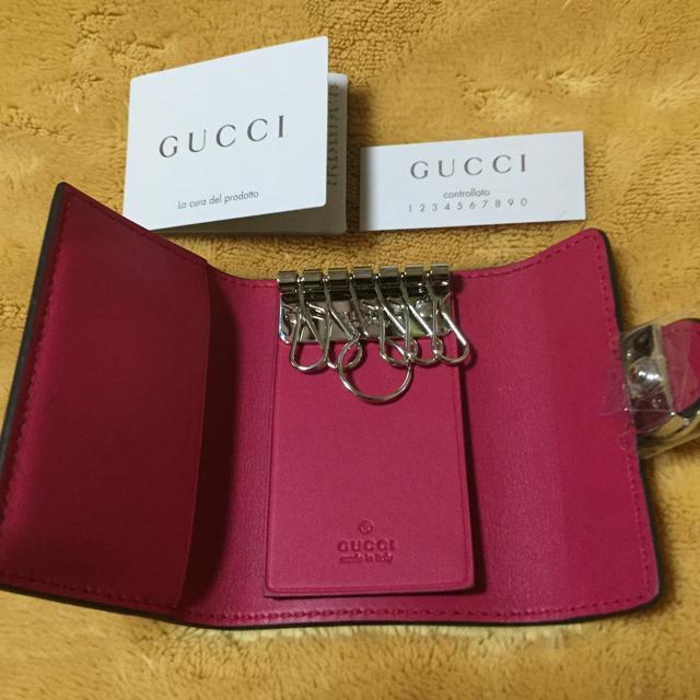 a1cba9fe0829 Gucci(グッチ)のGUCCIキーケース レディースのファッション小物(キーケース)