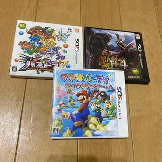 ニンテンドー3DS(ニンテンドー3DS)の割引き中 3DSソフト 3本セット(家庭用ゲームソフト)