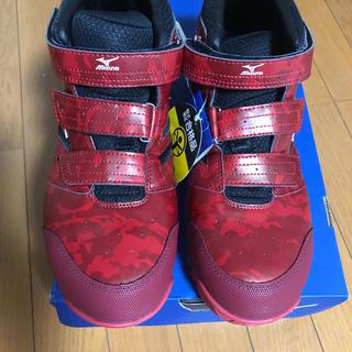 ミズノ(MIZUNO)のミズノ安全靴未使用。26.5センチ。(スニーカー)