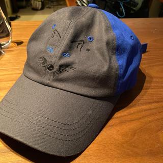 メゾンキツネ(MAISON KITSUNE')の新古品 メゾンキツネ ader error コラボ キャップ 帽子(キャップ)