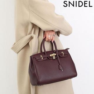 スナイデル(snidel)のソフトパッドロックバッグ(ハンドバッグ)