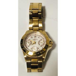 アガット(agete)のアガット agete FIRST 腕時計 クオーツ ゴールド レディース(腕時計)