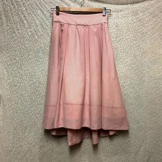 ウィルセレクション(WILLSELECTION)の新品タグ付きWILL SELECTIONピンクスカート☆(ロングスカート)