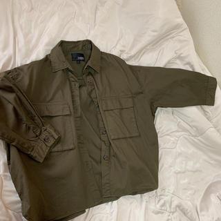 シマムラ(しまむら)のカーキ ジャケット シャツ(ミリタリージャケット)