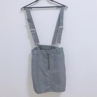 ウィゴー(WEGO)のWEGO サロペット スカート(ひざ丈ワンピース)