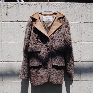 アメリヴィンテージ(Ameri VINTAGE)の70's Vintage JQD Fur jacket(テーラードジャケット)
