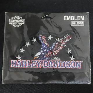 ハーレーダビッドソン(Harley Davidson)の★未使用ハーレーダビッドソンHarleyDavidsonワッペン鷲うさ山のお店(ステッカー)