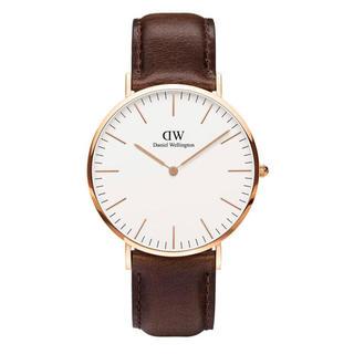 ダニエルウェリントン(Daniel Wellington)の安心保証付き【40㎜】ダニエルウエリントン 腕時計〈DW00100009〉(腕時計(アナログ))