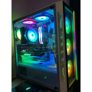 エイスース(ASUS)の高性能MSIゲーミングcorei7 6700 セットモニター/マウス/キーボード(デスクトップ型PC)