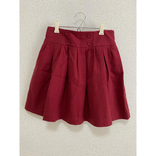 ジエンポリアム(THE EMPORIUM)の赤色スカート(ミニスカート)