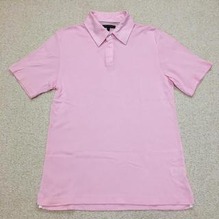 バナナリパブリック(Banana Republic)のバナナリパブリック メンズ 半袖ポロシャツ ピンク サイズS(ポロシャツ)