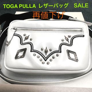 トーガ(TOGA)の【新品未使用】TOGA PULLA  レザーバッグ ショルダー/ウエストバック(ボディバッグ/ウエストポーチ)