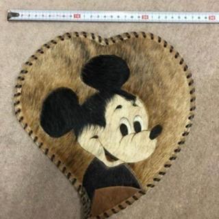 ディズニー(Disney)の激レア ミッキーマウス ヴィンテージタペストリー(絵画/タペストリー)