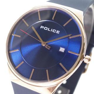 ポリス(POLICE)のポリス POLICE 腕時計 メンズ クォーツ ネイビー(腕時計(アナログ))