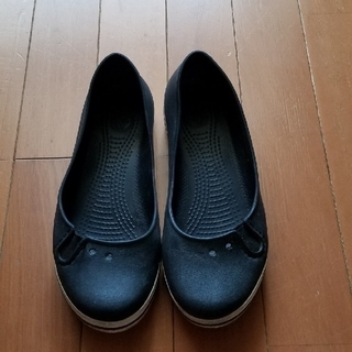クロックス(crocs)の靴 クロックス 黒 シビッツおまけ(その他)