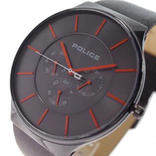 ポリス(POLICE)のポリス POLICE 腕時計 メンズ クォーツ ガンメタル ブラック(腕時計(アナログ))