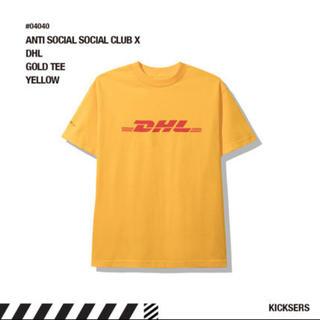 アンチ(ANTI)のANTI SOCIAL SOCIAL CLUB DHL LOGO T-Shirt(Tシャツ/カットソー(半袖/袖なし))
