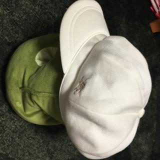 バーバリー(BURBERRY)の今月末まで最終価格‼️新品☆BURBERRY GOLF 帽子 クリームかかった白(その他)